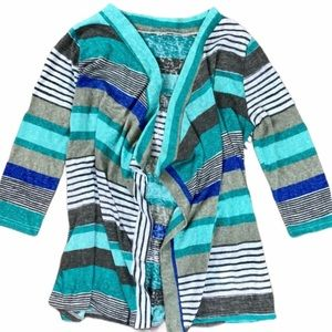 Sweaters - Open front long cardigan